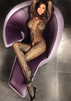 Bodystocking Nero Abra