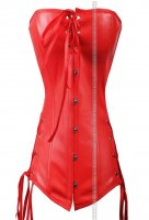 Corsetto latex Red passion